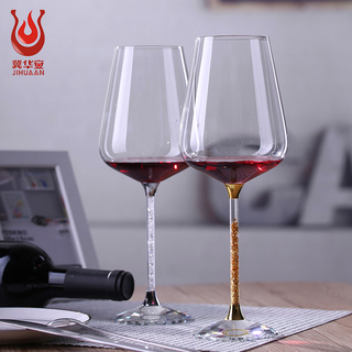 Creative wedding wine glass