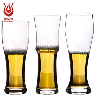 Wholesale Popular selling high borosilicate beer mugs, bar KTV glass beer waist cup juice cups, Drinkware Type Mug